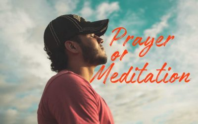 Prayer And Meditation – Explained for All (*With Examples)